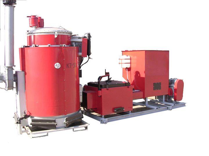 Тепловые агрегаты типа КТ, К