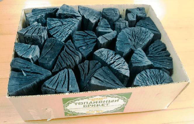 Установки для производства древесного угля