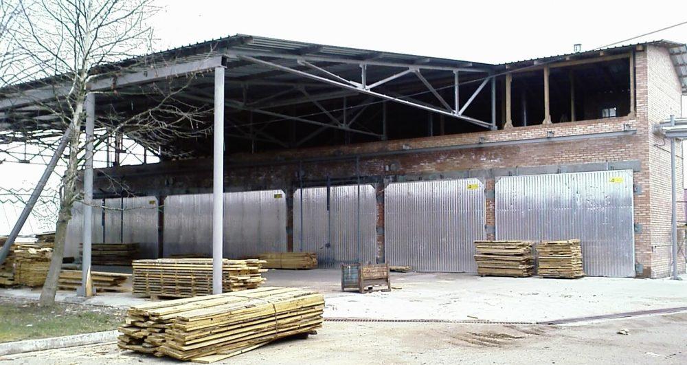 Проапрочные камеры для обработки древесины загружаемым объемом до 50м3