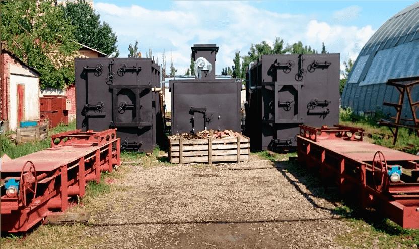 Производство древесного угля из отходов лесозаготовки